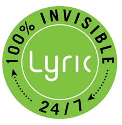 100% invisible hearing aid - Lyric